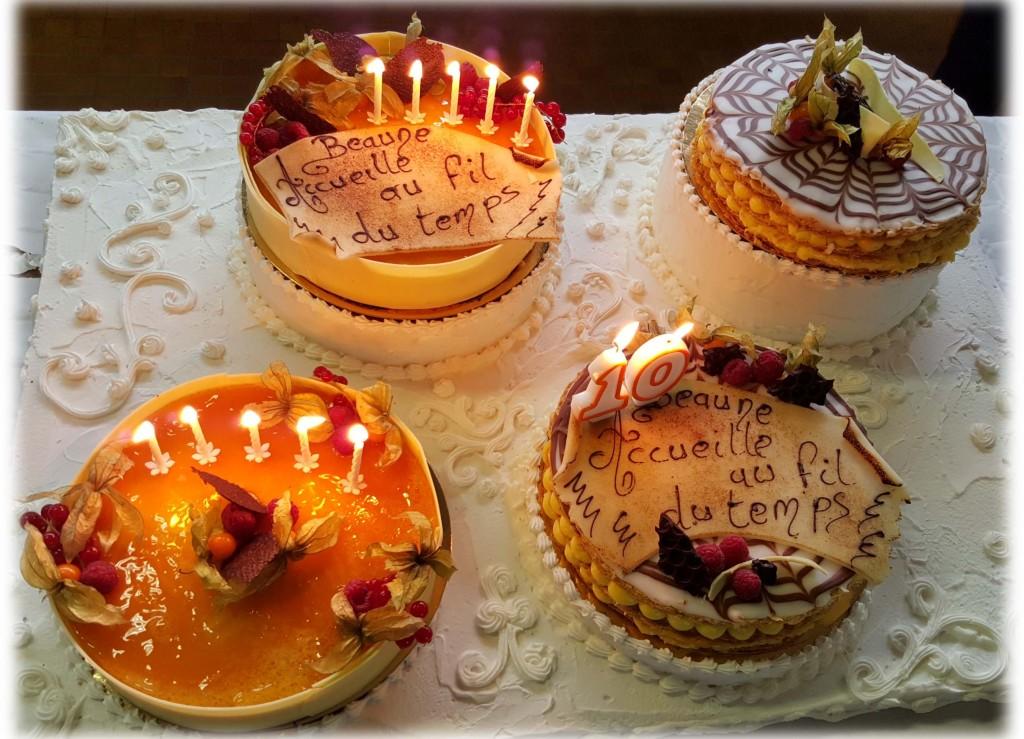 Gâteau 10 ans