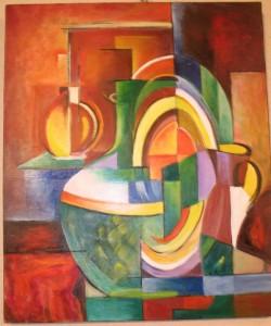 un tableau de Nancy Moursoux